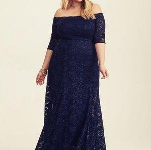 Torrid formal gown